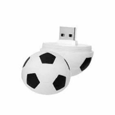 line-brindes - Pen drive Bola de Futebol