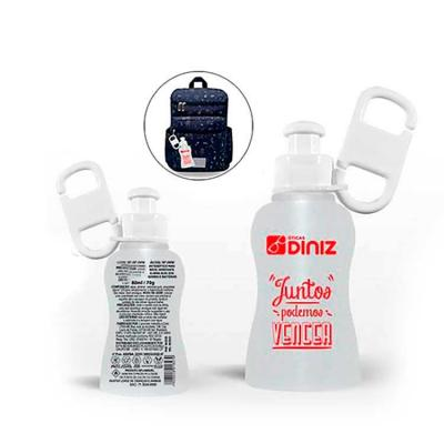 Chaveiro Álcool Gel 70º - 80 ml