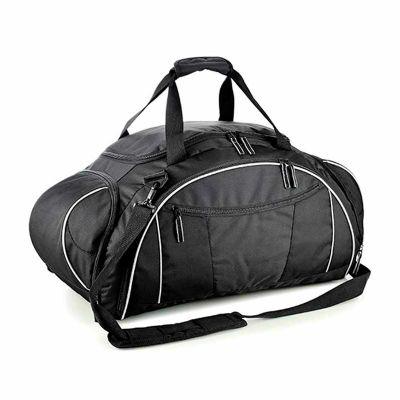 - Confeccionada em poliéster 300D e forro em nylon, possui uma alça de ombro ajustável, alça de mão confortável, cinco divisões com zíper, sendo, dois l...