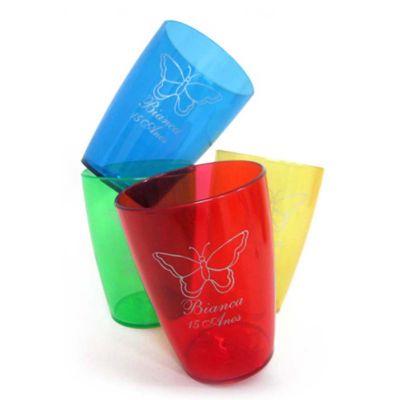 line-brindes - Copo Acrílico Cristal de 250 ml