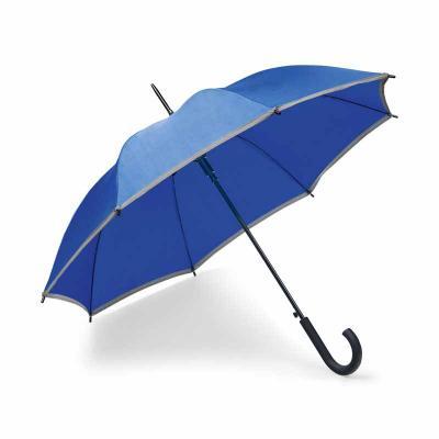 Guarda-chuva. Poliéster. Com faixa refletora. Pega revestida a borracha. Abertura automática. ø96...