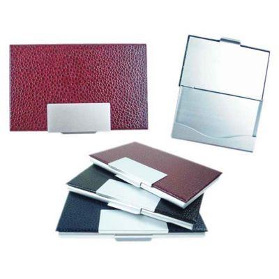 Line Brindes - Porta cartão de alumínio