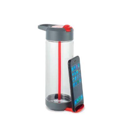 line-brindes - Squeeze com porta celular