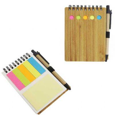 Selecta Promocional - Caderneta com marcadores de páginas