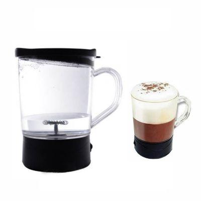 Caf� com espuminha, muito melhor!