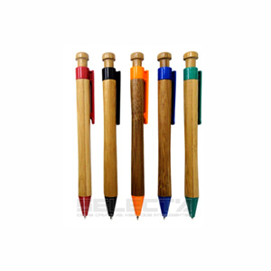 Selecta Promocional - Caneta de bambu.