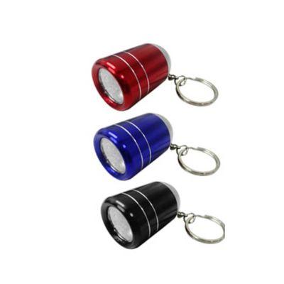Selecta Promocional - Chaveiro de metal com lanterna personalizado
