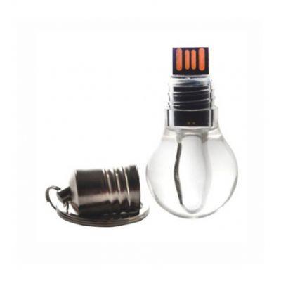 Selecta Promocional - Pen Drive formato lâmpada. Memória com capacidade para 4 Gb de armazenamento. Faça um orçamento e descubra as vantagens de comprar conosco.
