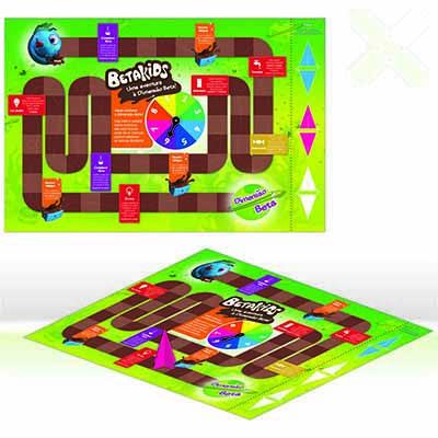Jogo de Tabuleiro. - Stamp Visual