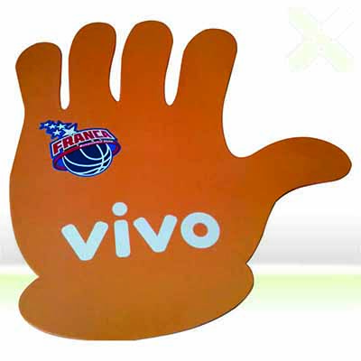 Mão Promocional / Mão p/ Eventos / Luvas. - Stamp Visual