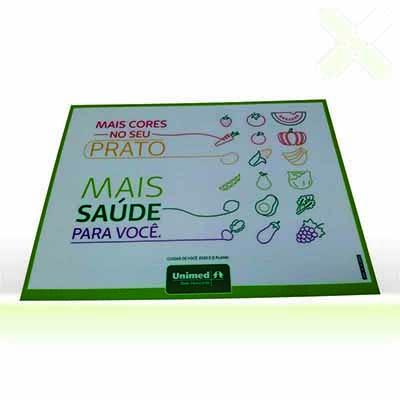 Stamp Visual - Jogo Americano / Suporte para Pratos.
