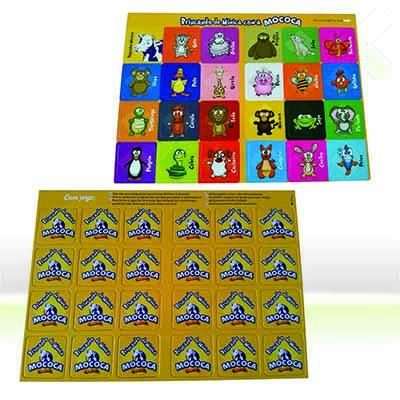 Jogo da Memória com impressão em offset ou silk screen. - Stamp Visual