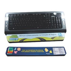 Stamp Visual - Apoio para teclado com gravação personalizada.