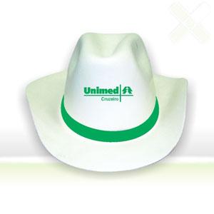 Chapéu de cowboy com gravação personalizável. - Stamp Visual