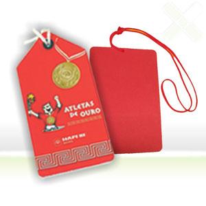 Stamp Visual - Identificadores de bagagem com gravação personalizada.