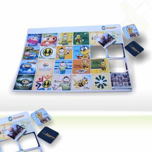 Jogo da memória com gravação personalizada. - Stamp Visual
