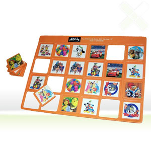 Stamp Visual - Jogo da memória com gravação personalizada.