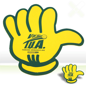 Mão para torcida em EVA - Stamp Visual