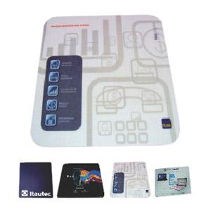 Stamp Visual - Mouse pad com gravação personalizada. Sua marca participando do cotidiano do cliente!