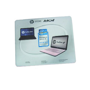 Stamp Visual - Mouse pad com gravação personalizada.
