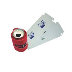 Porta lata com gravação personalizada. - Stamp Visual