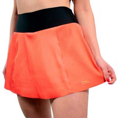 BALLET RUN | Shorts Saia de Compressão LARANJA