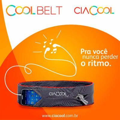 ciacool - Artigo essencial para atividades físicas, o Coolbelt é um cinto tubular sem fecho desenvolvido em Doutex, tecido de alta tecnologia.  Companhia perfei...