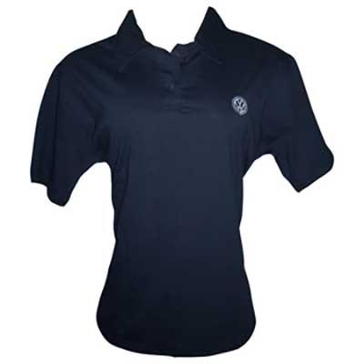 Stantex Soluções Têxteis - Camisa polo de algodão com modelo feminino e gravação bordada.