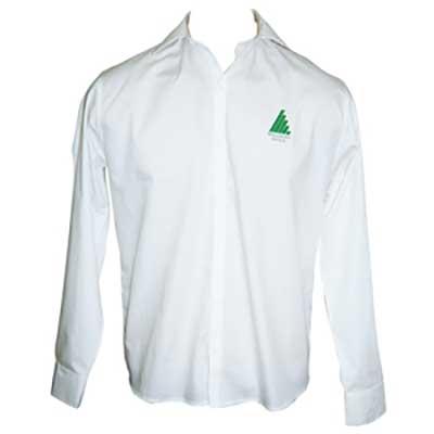 stantex-solucoes-texteis - Camisa social com bordado personalizado.