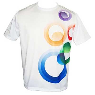 stantex-solucoes-texteis - Camiseta de poliéster com gravação personalizada.