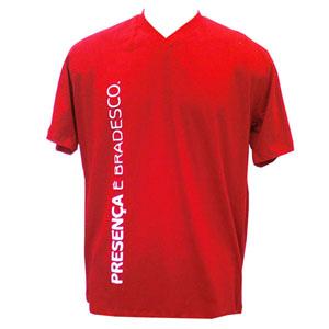 stantex-solucoes-texteis - Camiseta de algodão com gola decote V e gravação personalizada. Estilo garantido para seus clientes!