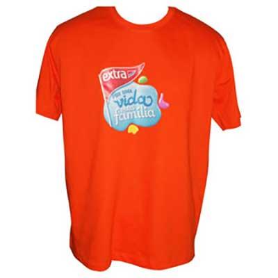 stantex-solucoes-texteis - Camiseta em algodão com gravação personalizada.