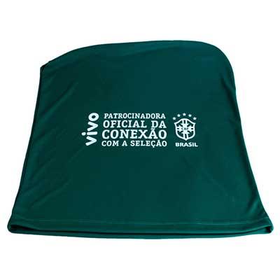 Stantex Soluções Têxteis - Capa em helanca light com impressão em silk.