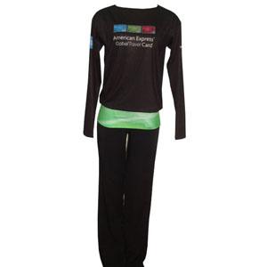 Stantex Soluções Têxteis - Blusa com gravação personalizada e calça social em Oxford.
