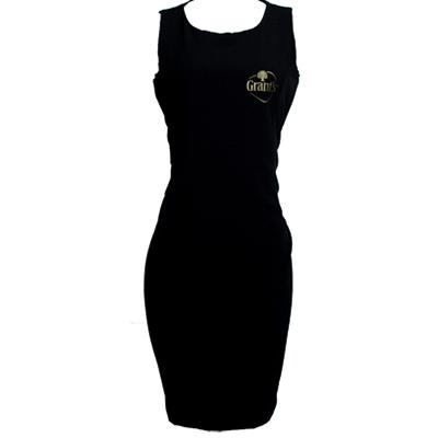 Stantex Soluções Têxteis - Vestido em Two Way com impressão em silk.