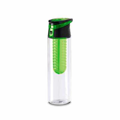 Pratic Brindes - Squeeze plastico AS e PP. Com infusor de frutas. Capacidade: 740 ml. Personalizado em Serigrafia.