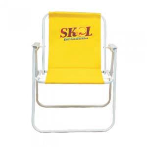 Pratic Brindes - Cadeira alta em alumínio