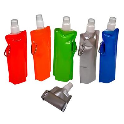 Smart Gifts & Co - Squeeze plástico dobrável com gravação personalizável.
