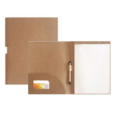 Smart Gifts & Co - Pasta congresso 30x23cm, elástico de fechamento, acompanha bloco com 25 fls, sticky-notes e caneta.
