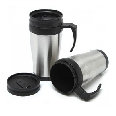 Smart Gifts - Caneca com tampa 400 ml.