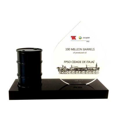 Obra Prima Oficina de Arte - Miniatura Barril de Petróleo