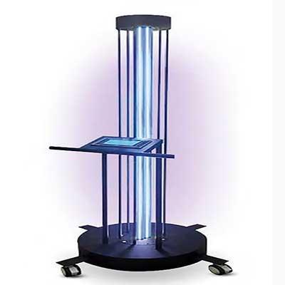 Luminárias esterilizadoras de ambientes,