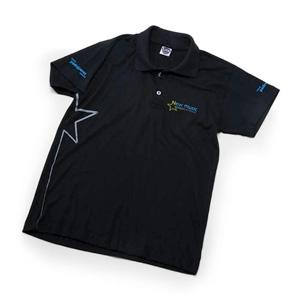 mgm-brindes - Camisa polo 100% em algodão, com impressão personalizada em silk.