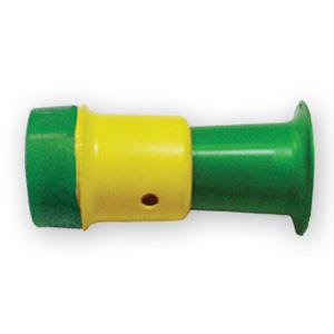 MGM Brindes - Mini corneta personalizada com 10 cm de comprimento.