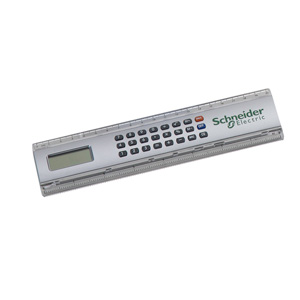 mgm-brindes - Régua com calculadora e impressão personalizada.