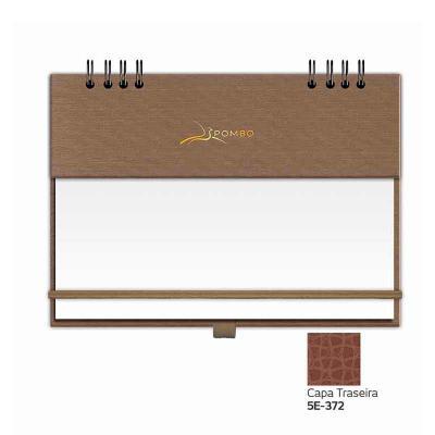"""POMBO - RISQUE & RABISQUE MODELO 907 - CAPA A1 ÍNDIA - Capa com base em papel, com textura (tecido Shantung: aspecto de pequenos """"arranhões""""). - Personalizaçã..."""