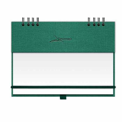 pombo-lediberg - RISQUE & RABISQUE MODELO 907 - CAPA K2 NATURE - Capa com base em papel ecológico, com textura (rústica). - Personalização em baixo relevo termo escure...