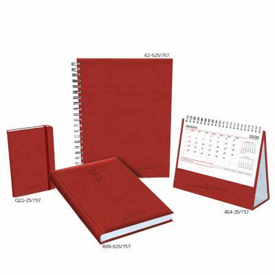 - 625-Caderno: formato 168 x 240 mm, papel branco, 192 páginas, impressão em 2 cores, furação quadrada e wire-o prata. B08-Agenda: formato 145 x 205 mm,...