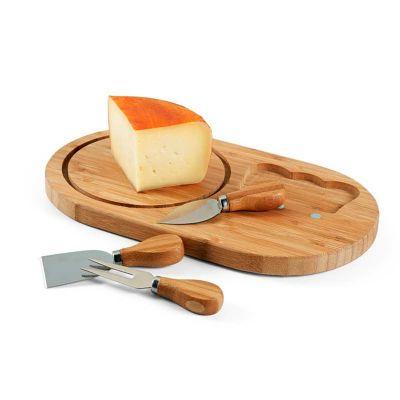 Pombo Lediberg - Kit Gourmet para queijos (4 peças).  *Sujeito à disponibilidade de estoque