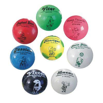 GTX Brindes - Bolas de vinil personalizadas.